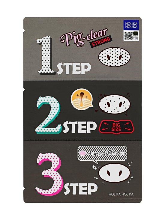 Holika Holika - Pig Clear Blackhead 3-Step Kit (Strong) -mustapäälaastari - NOCOL | Stockmann - photo 1