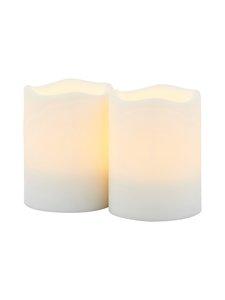 Sirius - Storm Mini -led-kynttilä 5 x 6,5 cm, 2 kpl - WHITE | Stockmann