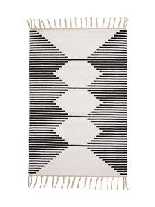 Casa Stockmann - Formula-puuvillamatto 60 x 90 cm - WHITEBLACK | Stockmann