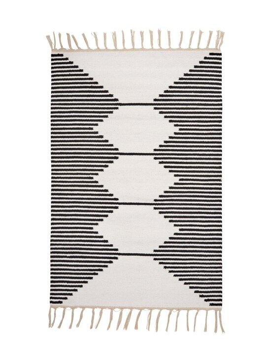 Casa Stockmann - Formula-puuvillamatto 60 x 90 cm - WHITEBLACK | Stockmann - photo 1