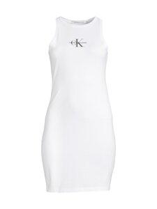 Calvin Klein Jeans - Monogram-mekko - YAF BRIGHT WHITE   Stockmann