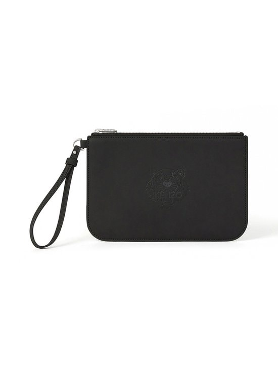 Kenzo - Preppy Tiger Small Clutch -laukku - BLACK | Stockmann - photo 1