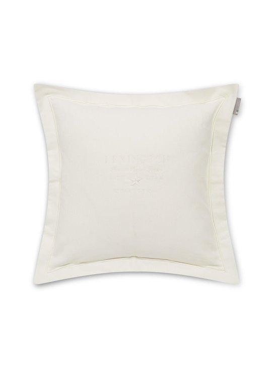 Lexington - Hotel Velvet Sham -koristetyyny 50 x 50 cm - OFF WHITE | Stockmann - photo 1