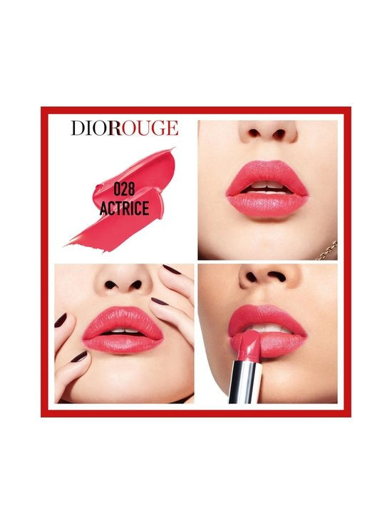 DIOR - Rouge Dior Lipstick -huulipuna - 028 ACTRICE | Stockmann - photo 2