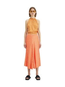 Rodebjer - Loulou Paisley Top -pusero - SANDY OCHRE | Stockmann