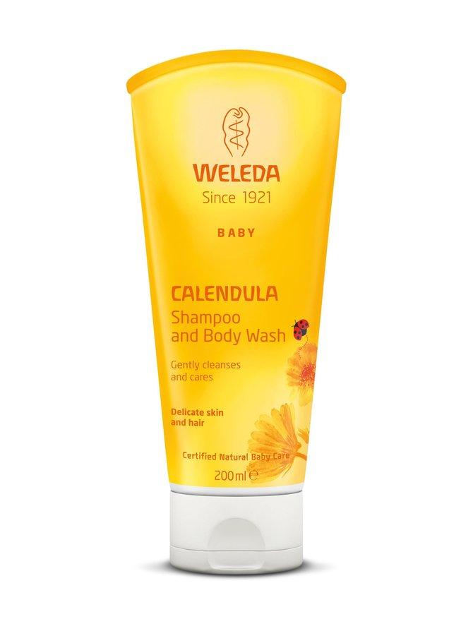 Calendula Shampoo & Body Wash -suihkuvoide 200 ml