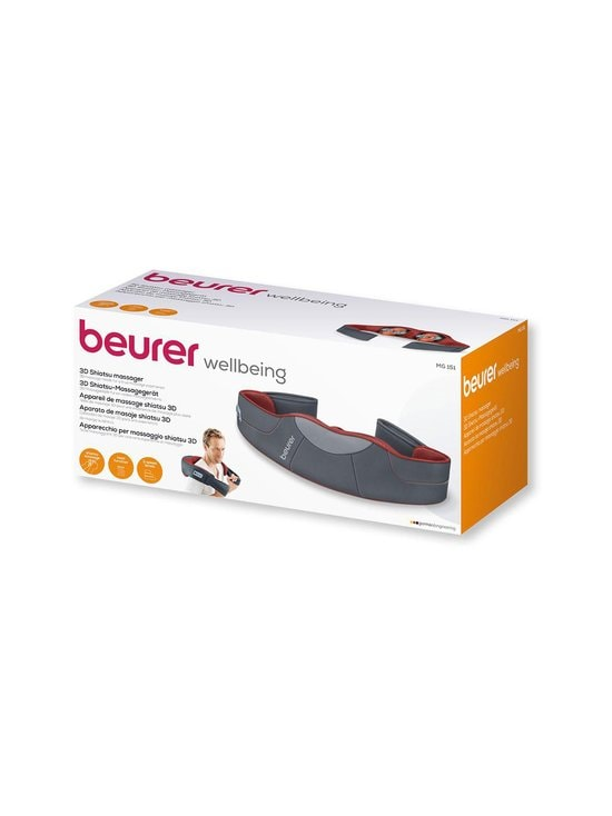 Beurer - MG15 3D Shiatsu Massager -shiatsuhieroja - HARMAA | Stockmann - photo 3