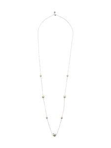 Snö Of Sweden - Silk Pearl Chain -kaulakoru - SILVER WHITE   Stockmann