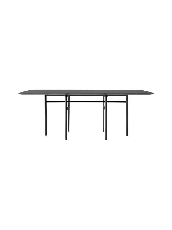 Menu - Snaregade-ruokapöytä 200 x 90 cm - CHARCOAL, BLACK | Stockmann - photo 1