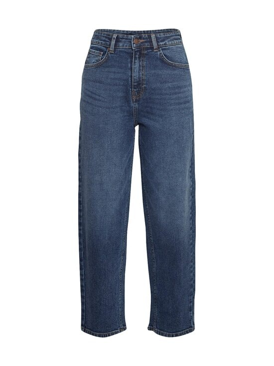Moss Copenhagen - Kendi Rikka Ankle Jeans -farkut - MID BLUE WASH | Stockmann - photo 1
