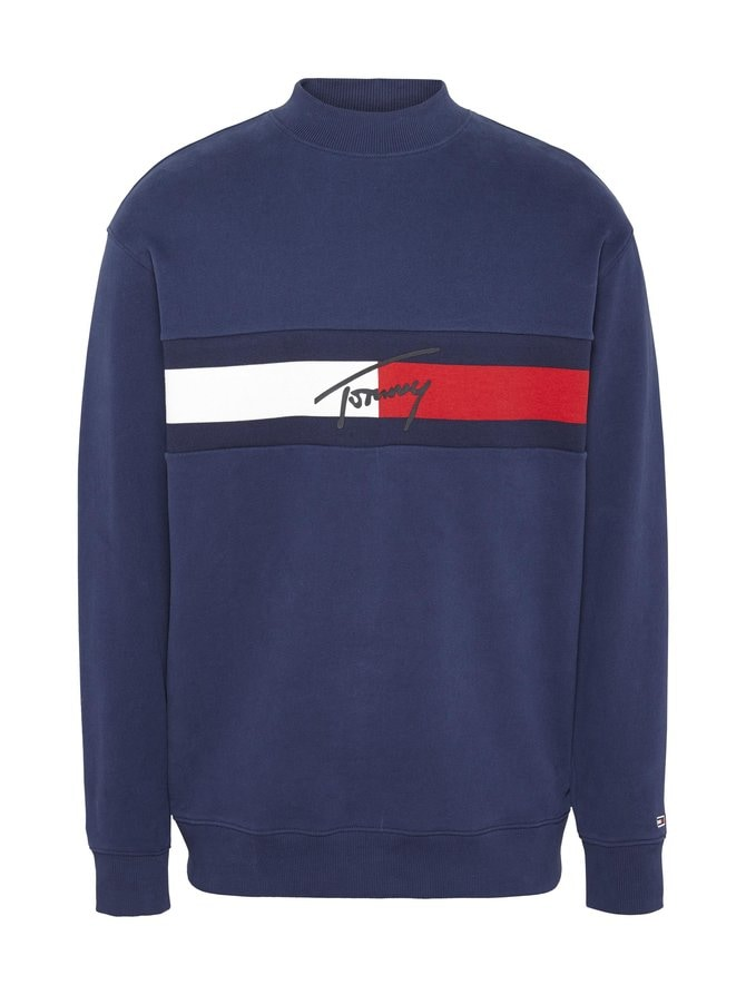 Tommy Signature Organic Cotton -collegepaita