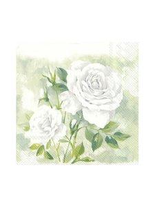 Ihr - Rose Boutique -servetti 33 x 33 cm - VALKOINEN | Stockmann