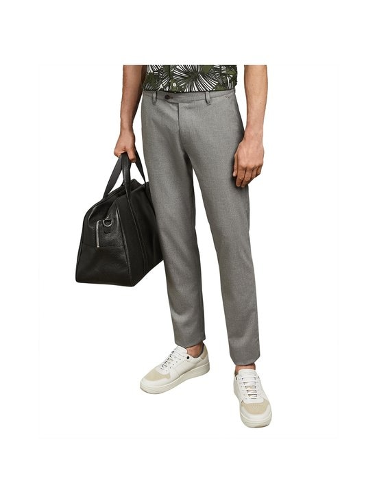 Ted Baker London - Seyii Slim Fit Plain -housut - 05 GREY | Stockmann - photo 3