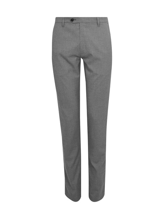 Ted Baker London - Seyii Slim Fit Plain -housut - 05 GREY | Stockmann - photo 1