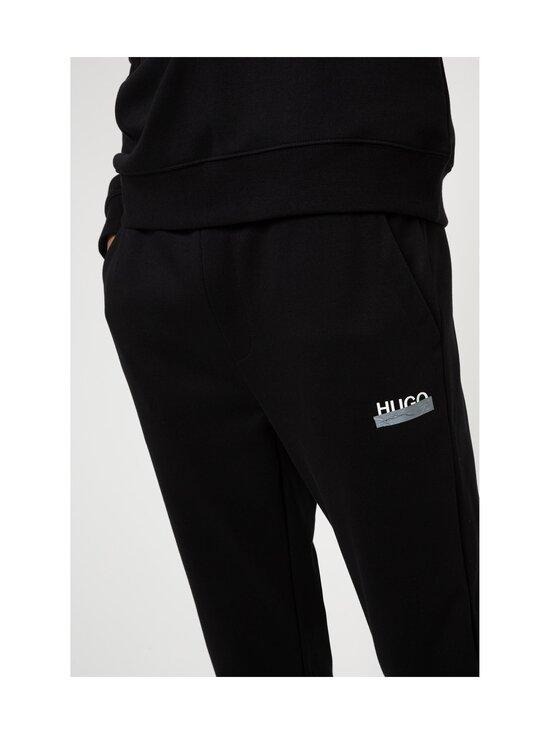 HUGO - Desell Jersey Trousers -housut - 001 BLACK   Stockmann - photo 4