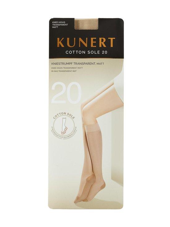 Kunert - Cotton Sole 20 den -polvisukat - TEINT | Stockmann - photo 1