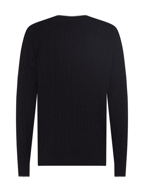 Tommy Hilfiger Tailored - Cable Crew -collegepaita - DW5 DESERT SKY | Stockmann - photo 2