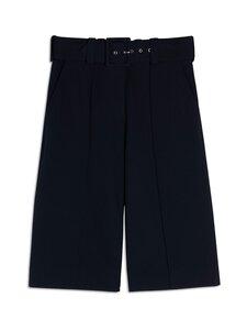 Victoria Victoria Beckham - Belted Jersey Culottes -housut - DK NAVY | Stockmann