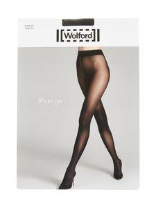 Wolford - Pure 50 den -sukkahousut - BLACK | Stockmann
