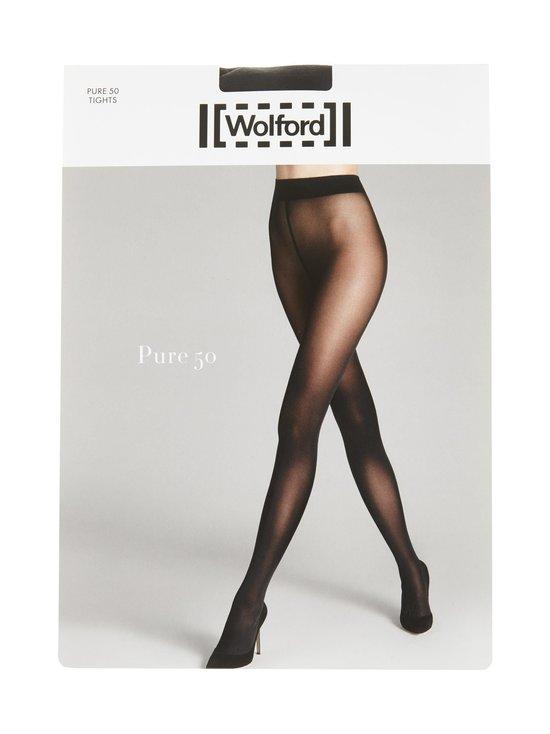 Wolford - Pure 50 den -sukkahousut - BLACK | Stockmann - photo 1