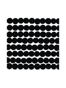 Marimekko - Räsymatto-servetti 25 x 25 cm - MUSTAVALKOINEN | Stockmann