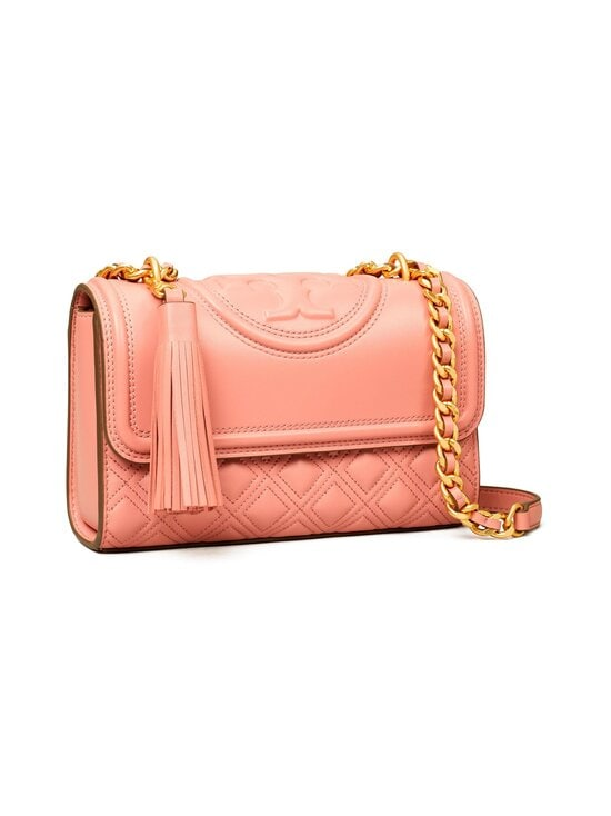 Tory Burch - Fleming Small Convertible Shoulder Bag -nahkalaukku - 651 PINK MAGNOLIA | Stockmann - photo 2