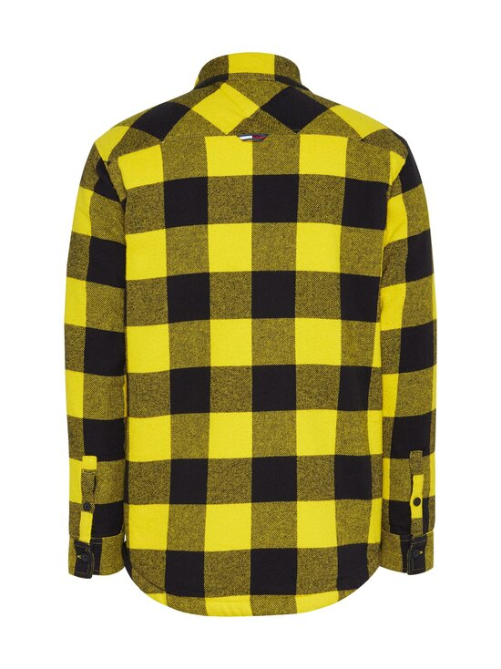 Tommy Jeans - Tjm Sherpa Flannel Overshirt -paita - 0RE VALLEY YELLOW / BLACK | Stockmann - photo 2