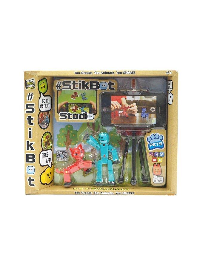 Stikbot- leikkisettistudio lemmikeillä