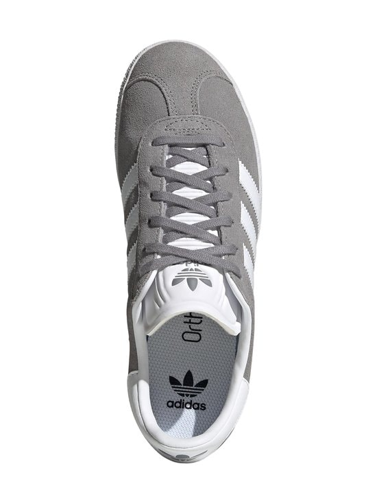 adidas Originals - Gazelle J -mokkanahkatennarit - GRETHR/FTWWHT/GOLDMT | Stockmann - photo 3