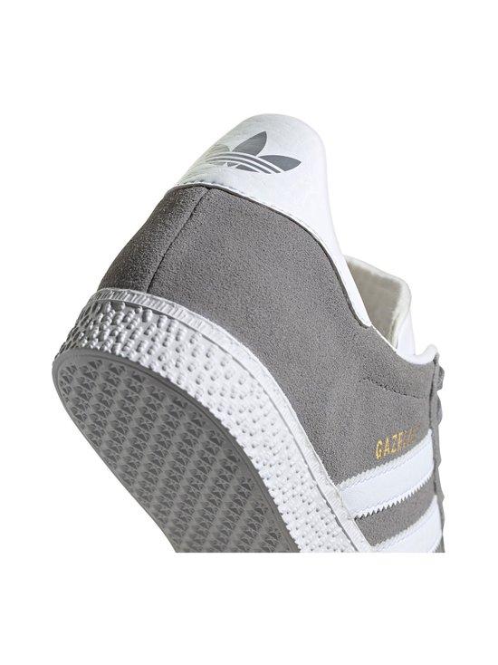 adidas Originals - Gazelle J -mokkanahkatennarit - GRETHR/FTWWHT/GOLDMT | Stockmann - photo 8