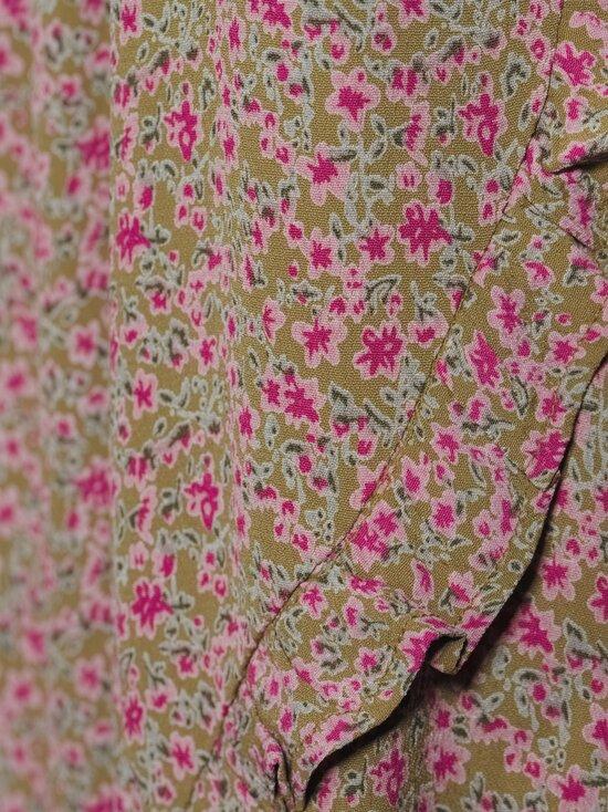 Noisy may - NmMare New LS Oversize Dress -mekko - FIR GREEN AOP:FESTIVAL FUCIA FLOWER | Stockmann - photo 4