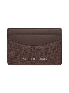Tommy Hilfiger - Business Mini CC Holder -korttikotelo - GBT CHESTNUT | Stockmann