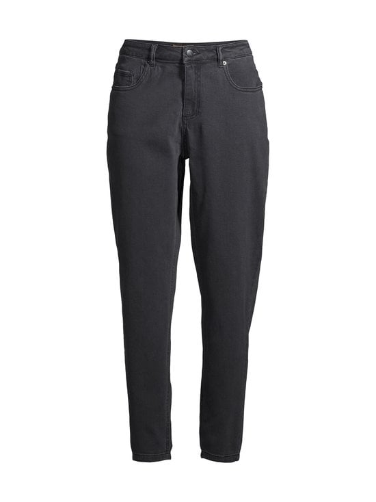 NOOM - Early Mom Jeans Cropped -farkut - WASHED BLACK DNM | Stockmann - photo 1
