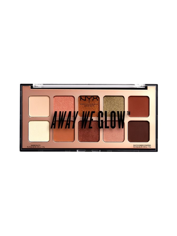 Away We Glow Shadow Palette -luomiväripaletti
