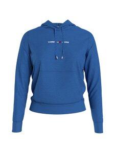 Tommy Jeans - TJW Linear Logo Hoodie -huppari - C45 GULF COAST BLUE   Stockmann