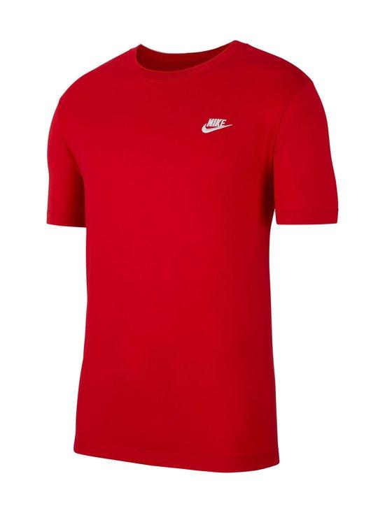 Nike - Sportswear Club -paita - 657 UNIVERSITY RED/WHITE | Stockmann - photo 1