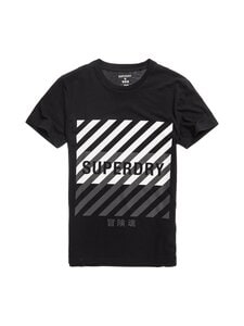 Superdry Sport - Training Coresport Graphic Tee -paita - 02A BLACK | Stockmann