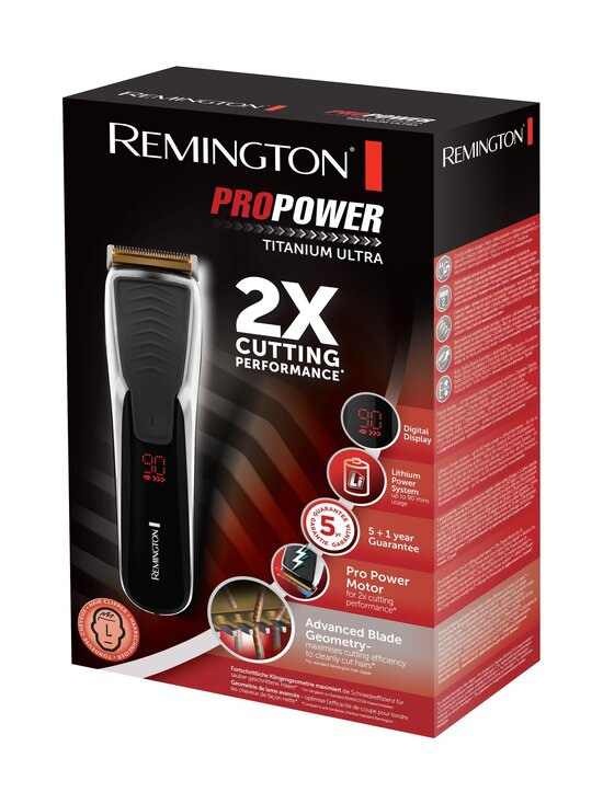 Remington - HC7170 Pro Power Titanium Ultra -hiustenleikkuri - BLACK | Stockmann - photo 2