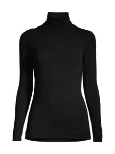 SECOND FEMALE - Matima T-Neck Tee -pooloneule - 8001 BLACK   Stockmann