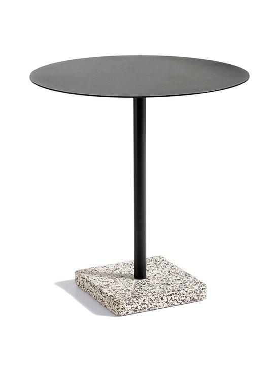 HAY - Terrazzo-pöytä ⌀ 70 cm - GREY TERRAZZO/ANTHRACITE | Stockmann - photo 1