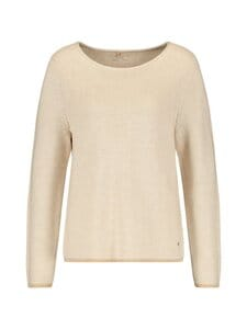 GERRY WEBER CASUAL - Knit o-neck -neule - 904750 TOFFEE MELANGE | Stockmann