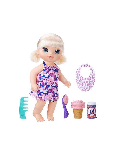 Baby Alive Maagiset Jäätelöpallot Baby Blonde -nukke