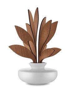 Alessi - The Five Seasons Leaf Fragrance Diffuser Ahhh -huonetuoksu - VALKOINEN/MAHONKI | Stockmann