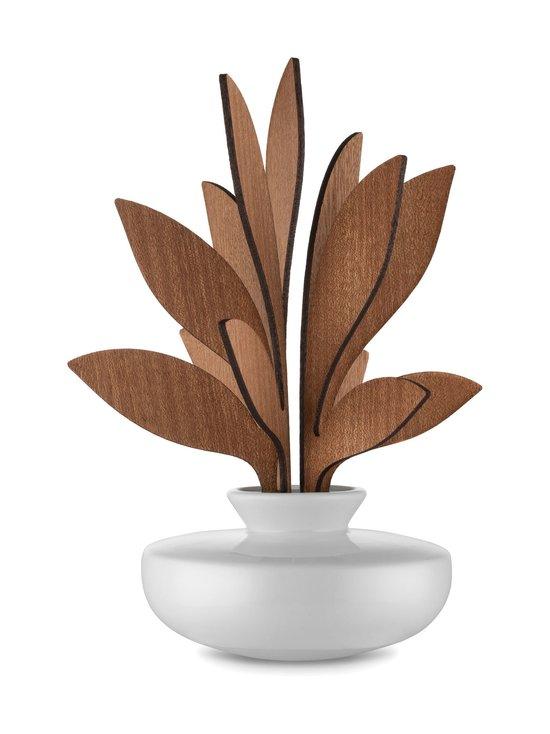 Alessi - The Five Seasons Leaf Fragrance Diffuser Ahhh -huonetuoksu - VALKOINEN/MAHONKI | Stockmann - photo 1