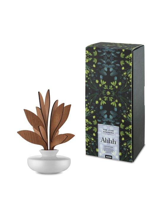 Alessi - The Five Seasons Leaf Fragrance Diffuser Ahhh -huonetuoksu - VALKOINEN/MAHONKI | Stockmann - photo 2