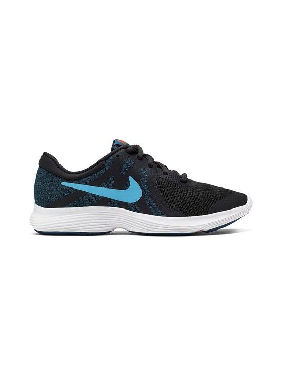 Nike - Revolution 4 -sneakerit - OFF NOIR/LIGHT CURRENT BLUE | Stockmann - photo 1