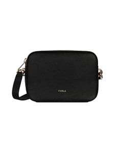 Furla - Block Mini Crossbody -nahkalaukku - O60-NERO | Stockmann