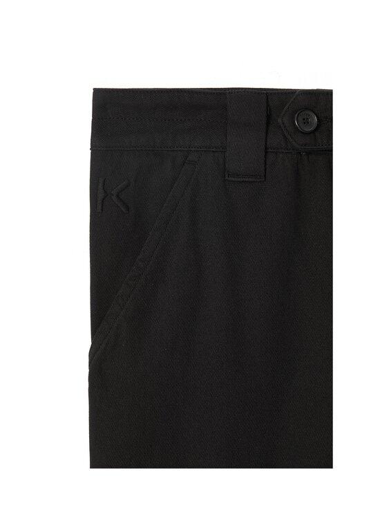 Kenzo - Cropped Pant -housut - 99 - GARMENT DYE COTTON DRILL - BLACK   Stockmann - photo 3