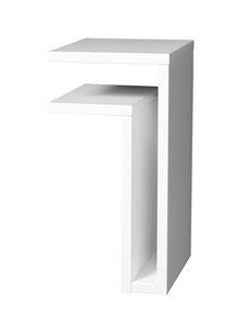 Maze - F-hylly, vasen - VALKOINEN | Stockmann