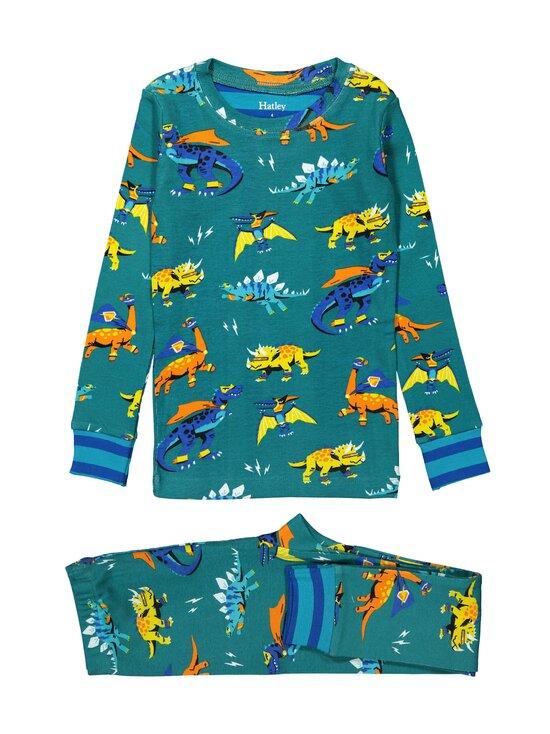 Hatley - Superhero Dinos -pyjama - OCEAN DEPTHS   Stockmann - photo 1